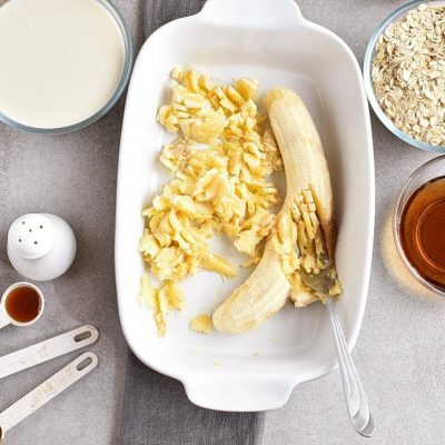 Vegan Banana Bread Baked Oatmeal recipe - step 2