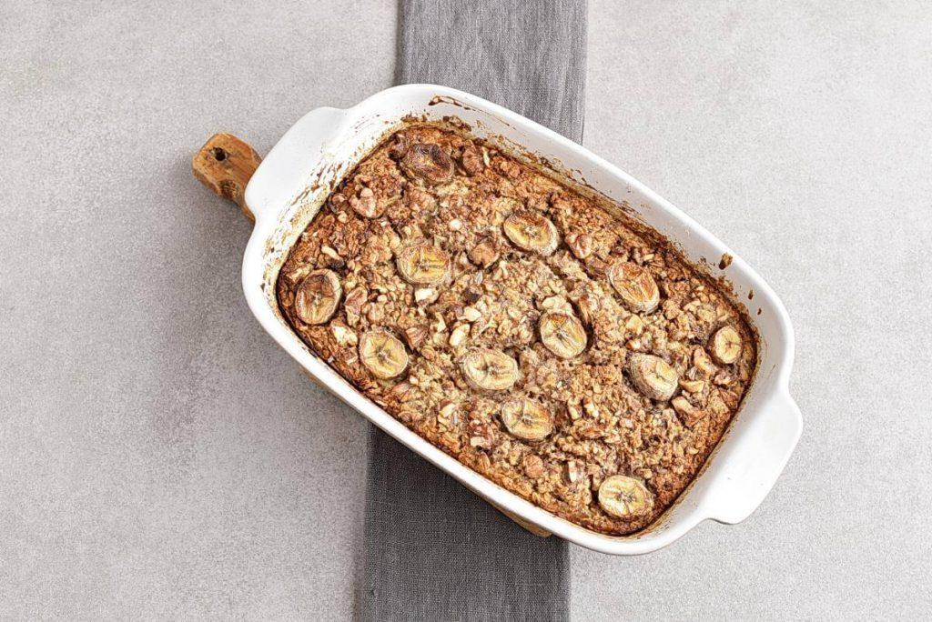 Vegan Banana Bread Baked Oatmeal recipe - step 5