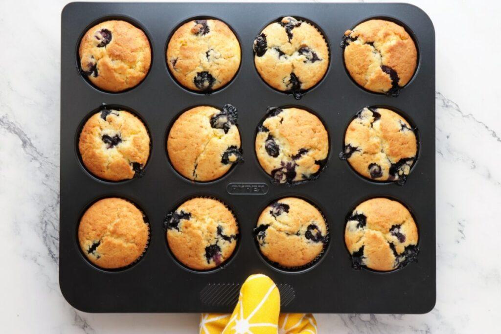 Blueberry Cream Cheese Muffins recipe - step 10