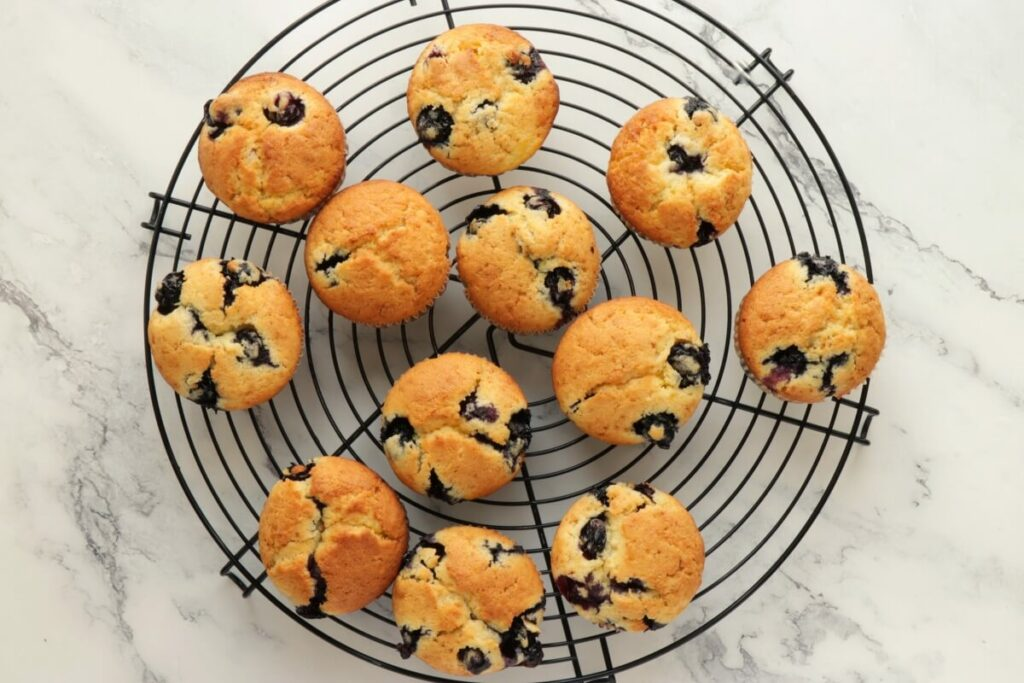 Blueberry Cream Cheese Muffins recipe - step 11