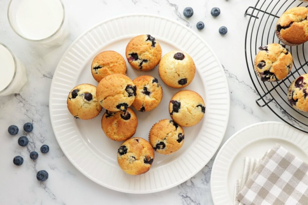 How to serve Blueberry Cream Cheese Muffins