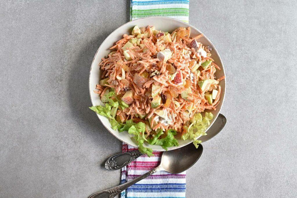 How to serve Carrot Apple Salad with Yogurt Dressing