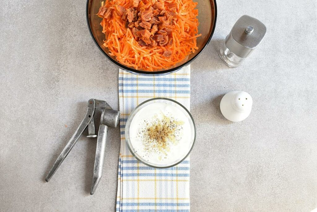Carrot Salad with Apricots and Pecans recipe - step 4
