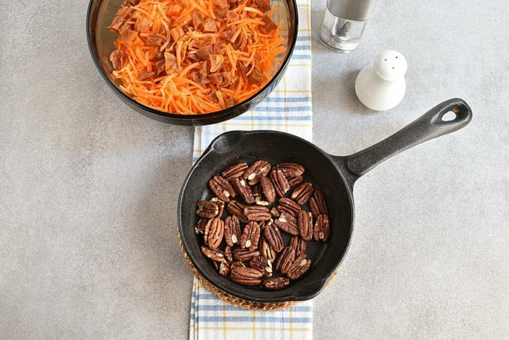 Carrot Salad with Apricots and Pecans recipe - step 2