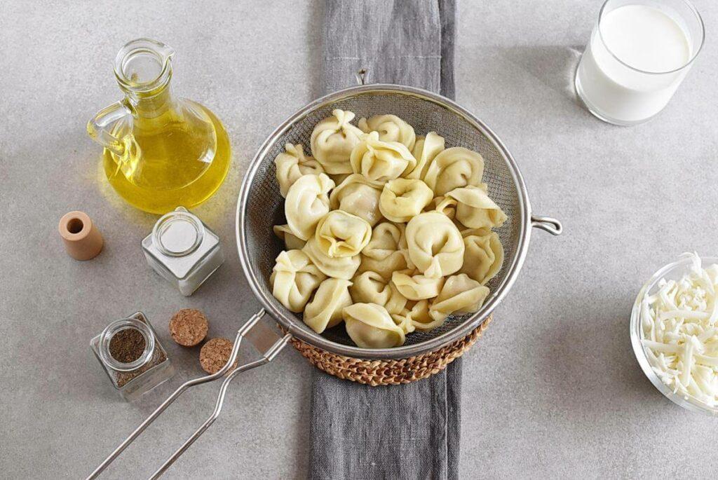 Cheese Tortellini Bake with Zucchini recipe - step 5