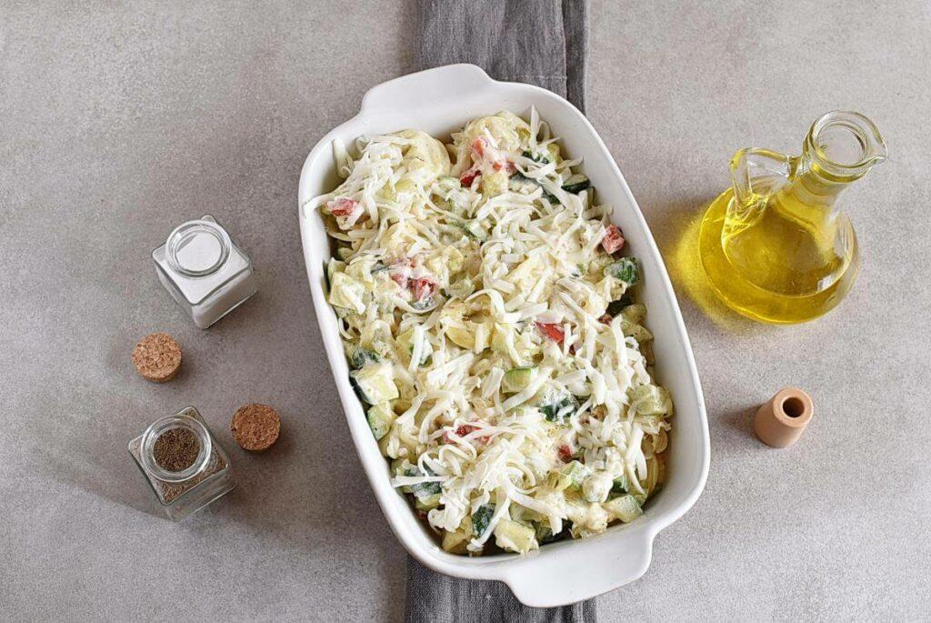 Cheese Tortellini Bake with Zucchini recipe - step 6