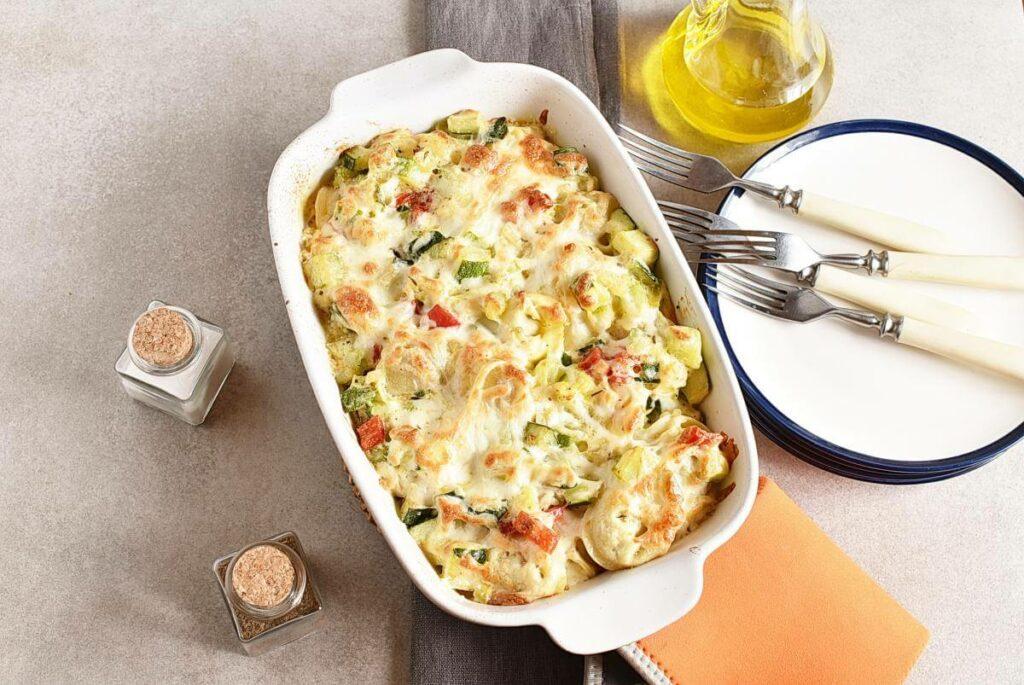 Cheese Tortellini Bake with Zucchini recipe - step 7