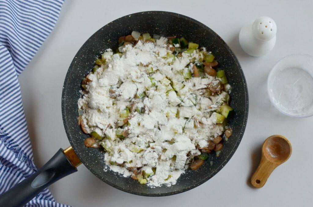 Cheesy Vegetable Egg Dish recipe - step 3