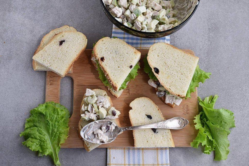 Chicken Waldorf Sandwiches recipe - step 3