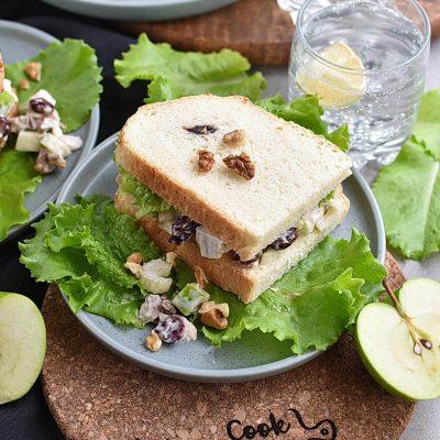 Chicken Waldorf Sandwiches Recipes– Homemade Chicken Waldorf Sandwiches– Easy Chicken Waldorf Sandwiches