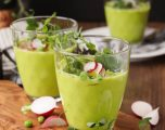 Chilled Green Pea Soup