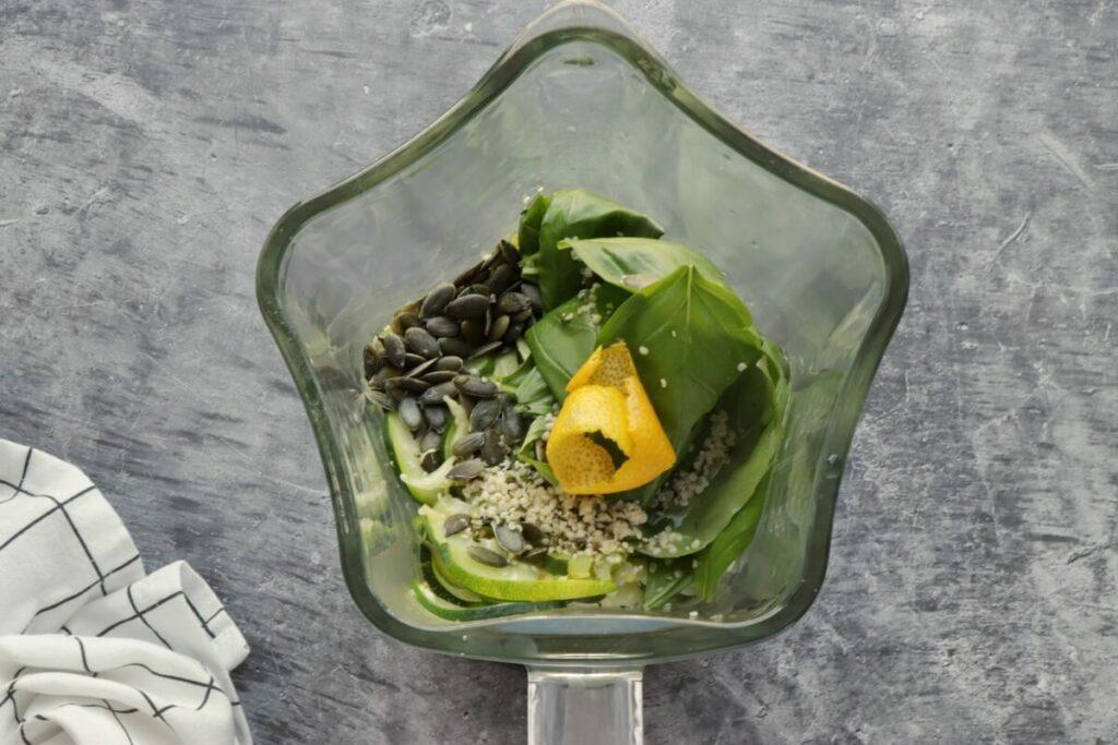 Chilled Zucchini Basil Soup recipe - step 3