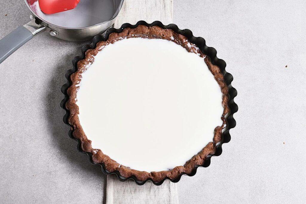 Chocolate Triple Berry Panna Cotta Tart recipe - step 9