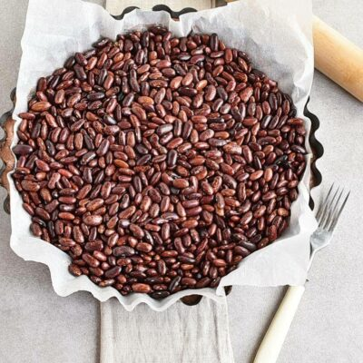 Chocolate Triple Berry Panna Cotta Tart recipe - step 4
