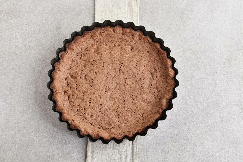 Chocolate Triple Berry Panna Cotta Tart recipe - step 5