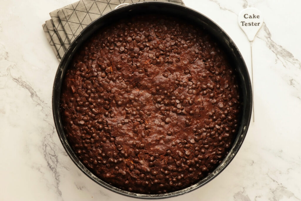 Chocolate Zucchini Cake recipe - step 8