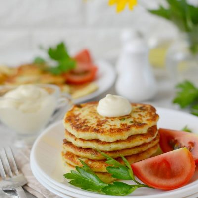 Easy Cauliflower Fritters Recipe-How To Make Easy Cauliflower Fritters-Easy Cauliflower Fritters