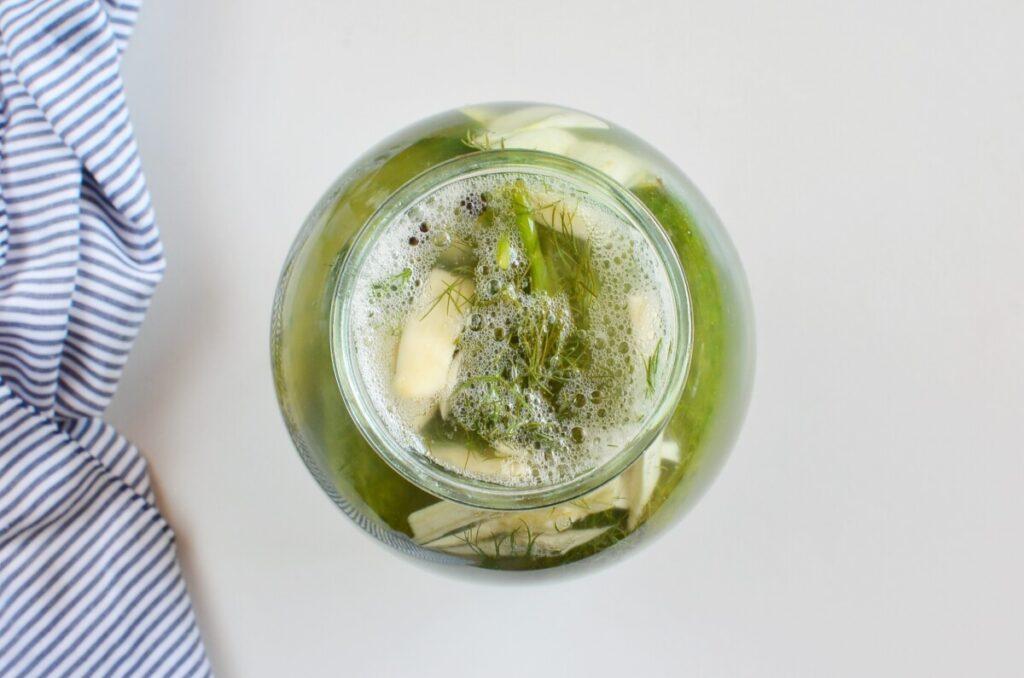 Easy Refrigerator Pickles recipe - step 6