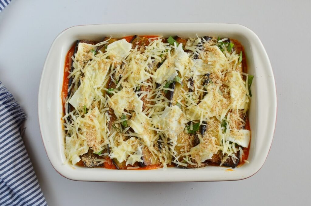 Eggplant Parmesan with Crisp Crumb Topping recipe - step 7