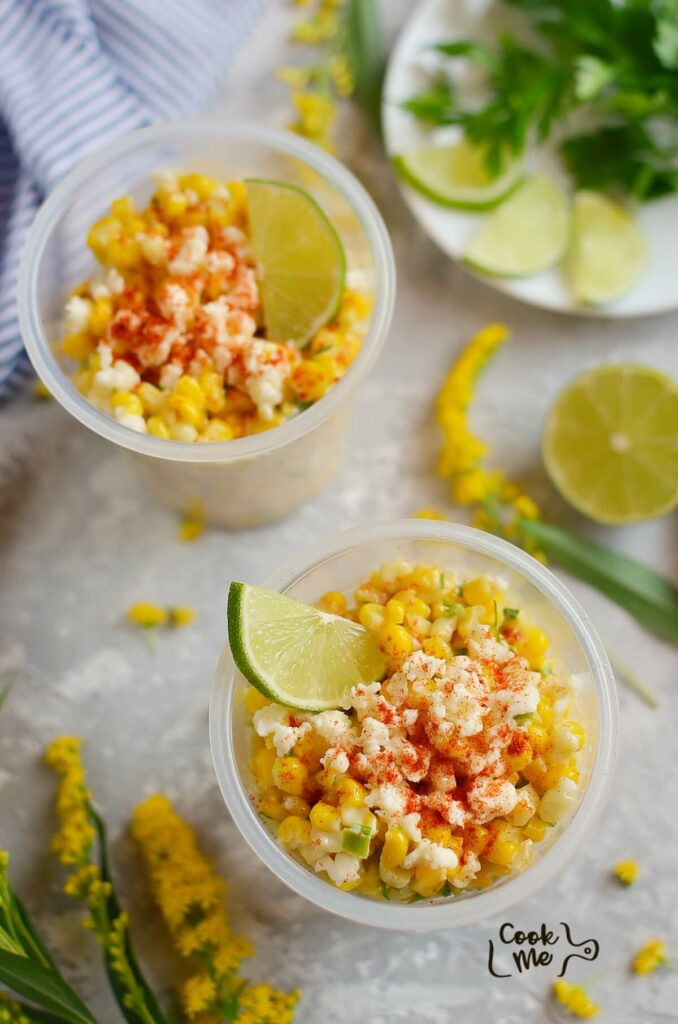 Esquites (Mexican Street Corn Cups)