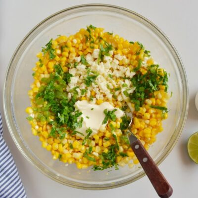 Esquites (Mexican Street Corn Cups) recipe - step 3