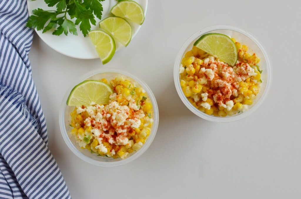 Esquites (Mexican Street Corn Cups) recipe - step 4