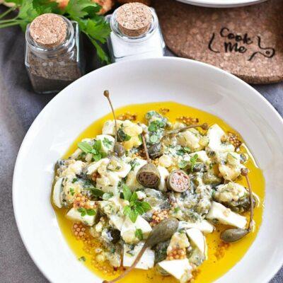 Gribiche (Hard-Boiled Egg) Dressing Recipes– Homemade Gribiche (Hard-Boiled Egg) Dressing– Easy Gribiche (Hard-Boiled Egg) Dressing
