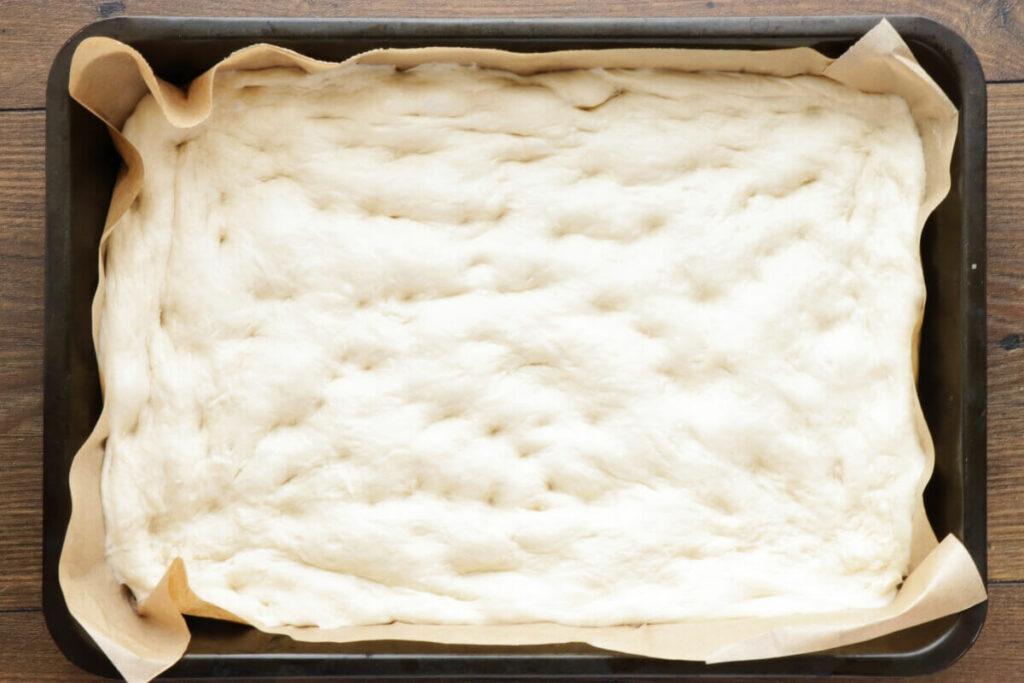 Herby Gooseberry Focaccia recipe - step 7