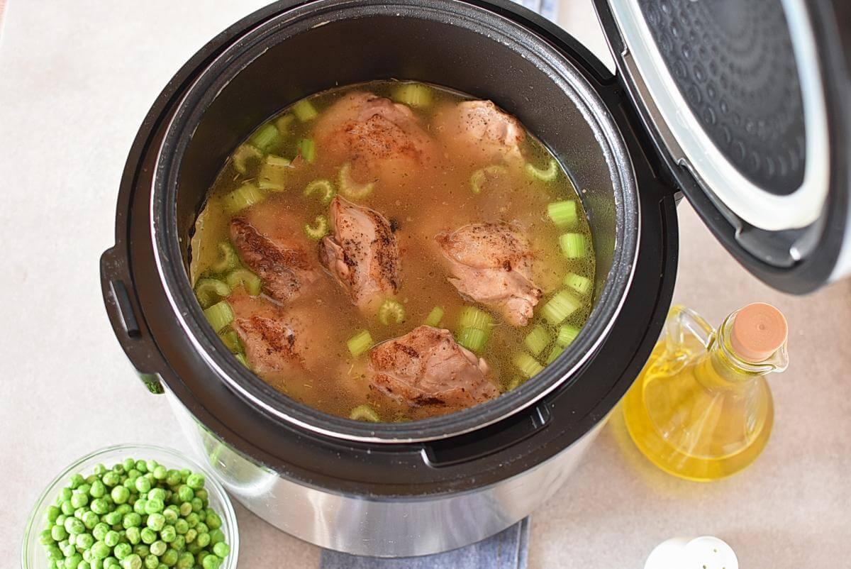 Instant Pot Chicken and Dumplings recipe - step 8