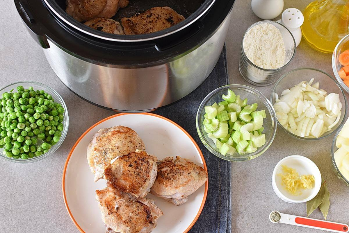 Instant Pot Chicken and Dumplings recipe - step 5