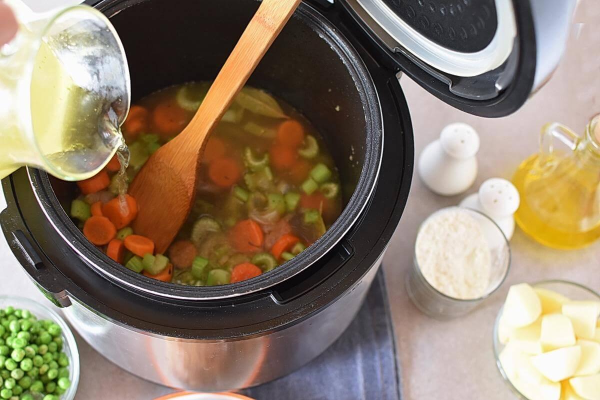 Instant Pot Chicken and Dumplings recipe - step 7