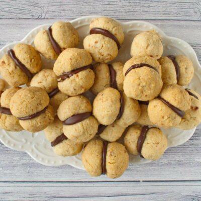 Italian Nut Cookies (Baci di Dama) recipe - step 10