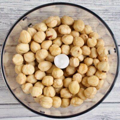 Italian Nut Cookies (Baci di Dama) recipe - step 2