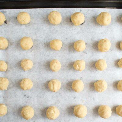 Italian Nut Cookies (Baci di Dama) recipe - step 5