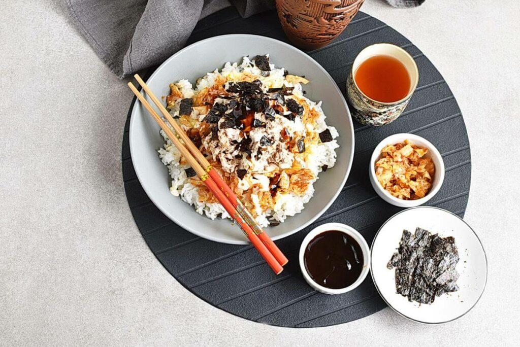 How to serve Korean Tuna Mayo Deopbap