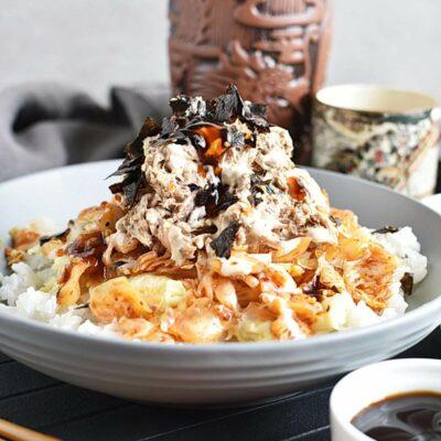 Korean Tuna Mayo Deopbap Recipes– Homemade Korean Tuna Mayo Deopbap– Easy Korean Tuna Mayo Deopbap