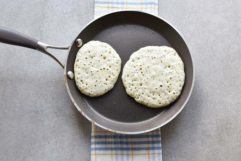 Lemon Pancakes with Raspberry Syrup recipe - step 6