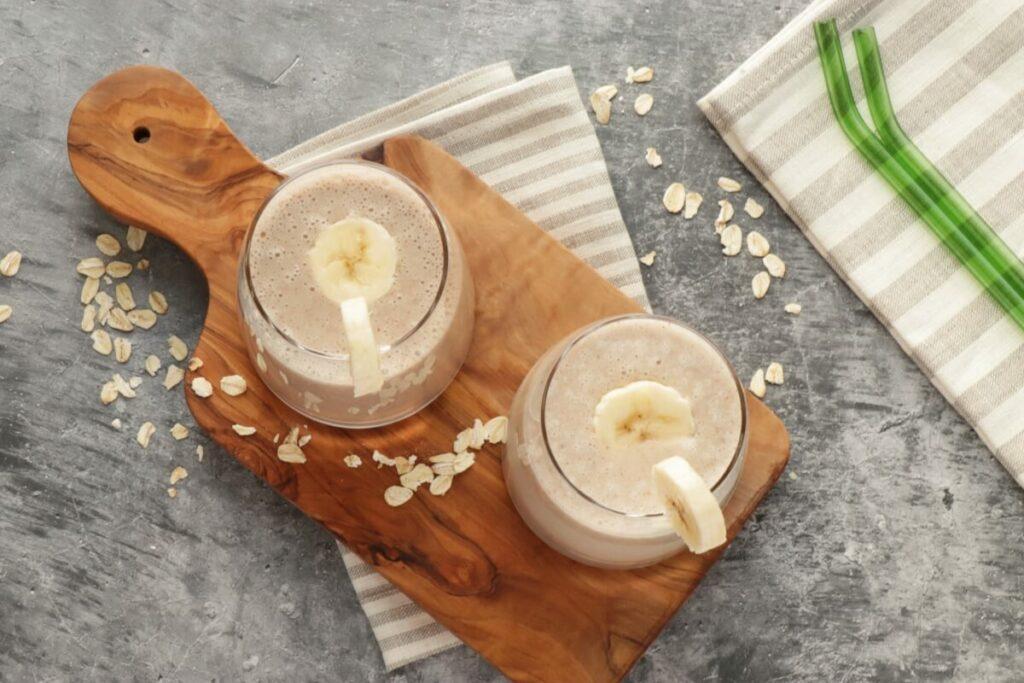 How to serve Vegan Oat Milk Smoothie