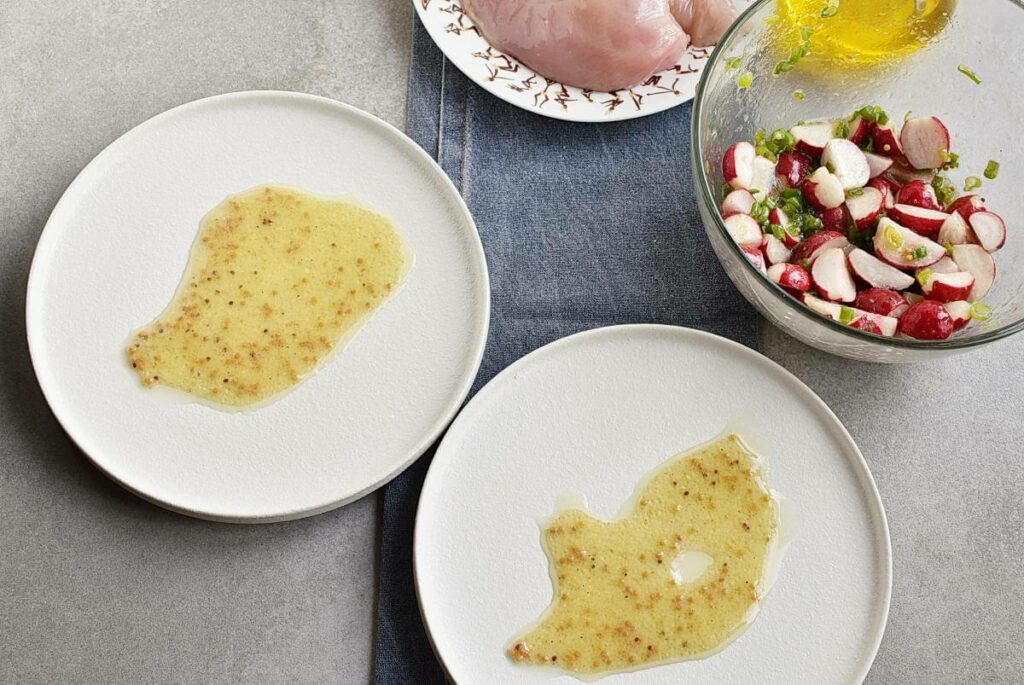 Pan-Seared Chicken Breasts with Radish recipe - step 4