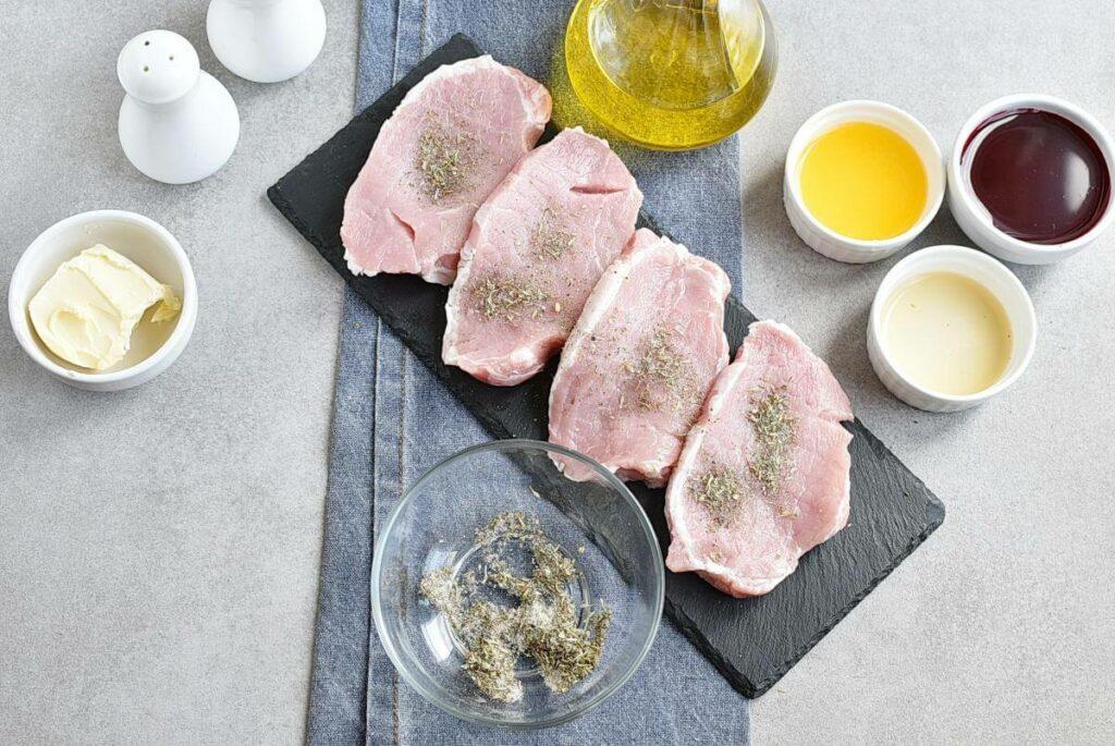 Pork Chops with Raspberry Sauce recipe - step 2