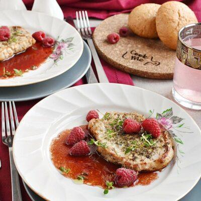 Pork Chops with Raspberry Sauce Recipes– Homemade Pork Chops with Raspberry Sauce– Easy Pork Chops with Raspberry Sauce