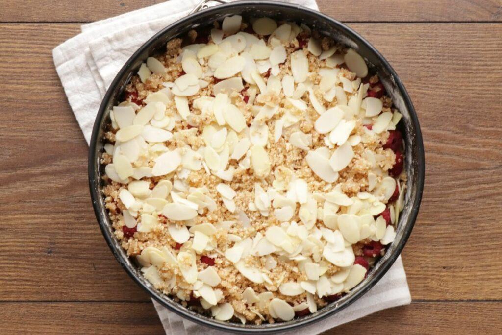 Raspberry Almond Crumb Cake recipe - step 10