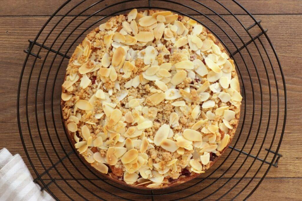 Raspberry Almond Crumb Cake recipe - step 12