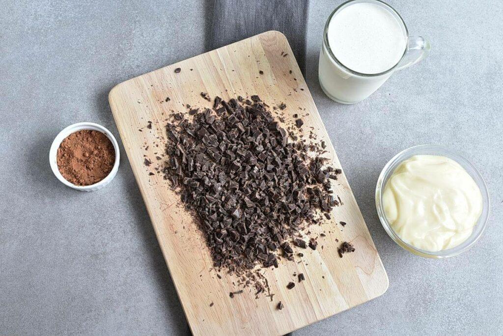 Raspberry Chocolate No Churn Ice Cream recipe - step 3