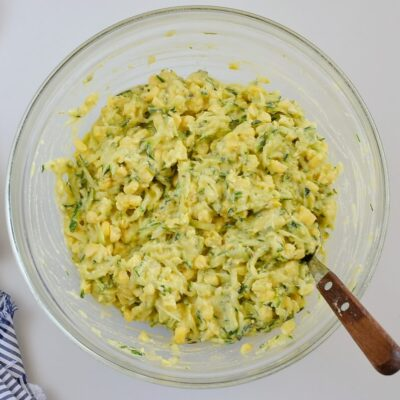 Southwestern Baked Zucchini Corn Bites recipe - step 2