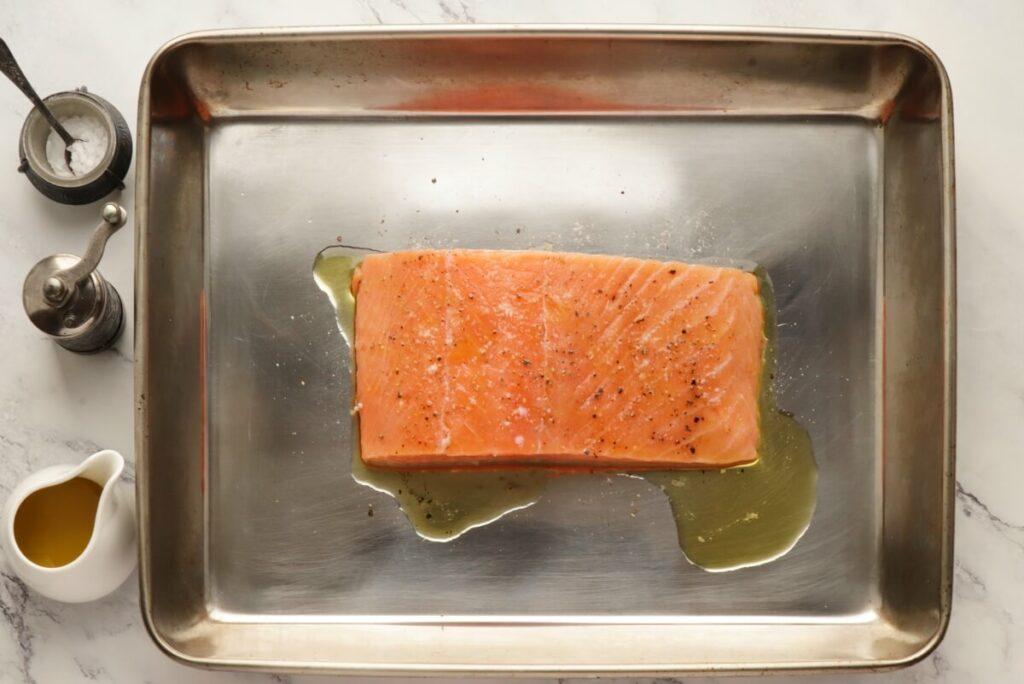 Summer Salmon Niçoise recipe - step 1