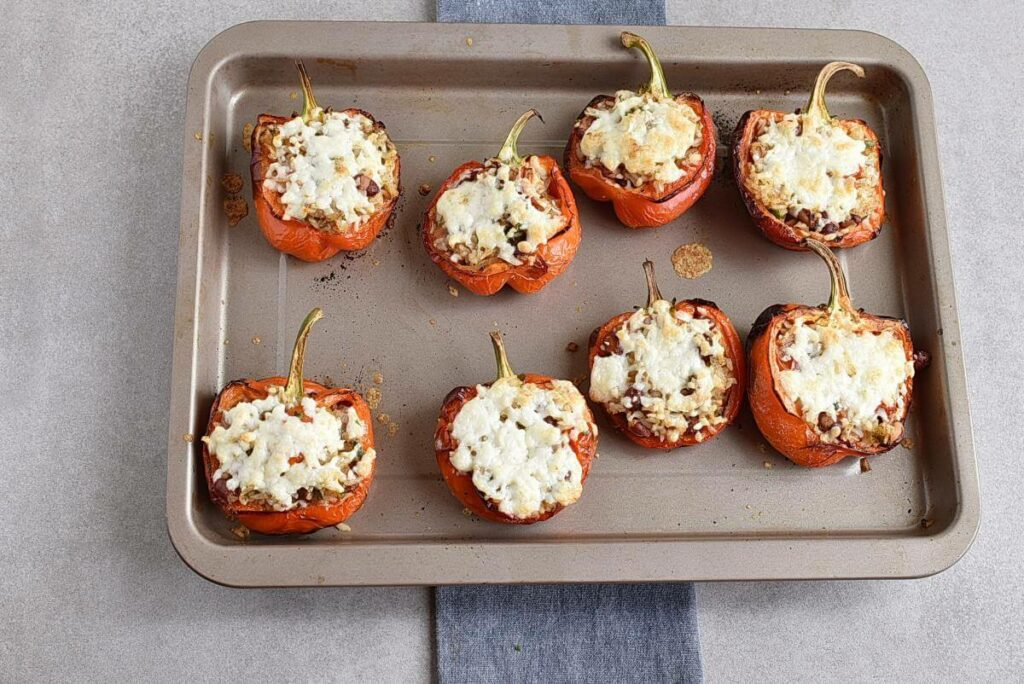 Vegetarian Stuffed Peppers recipe - step 9