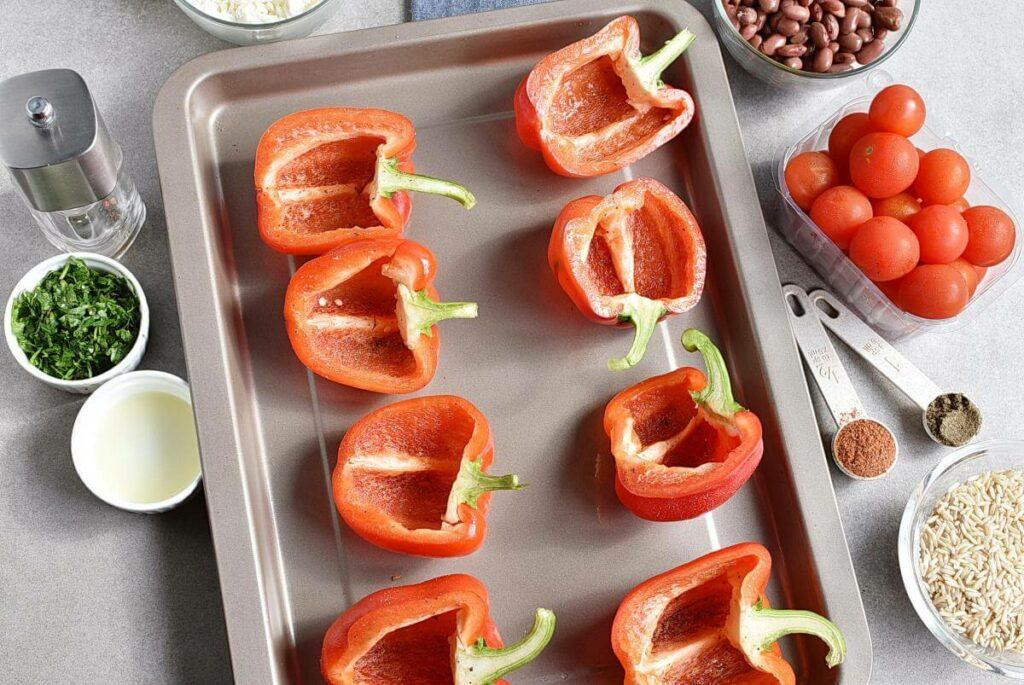 Vegetarian Stuffed Peppers recipe - step 2
