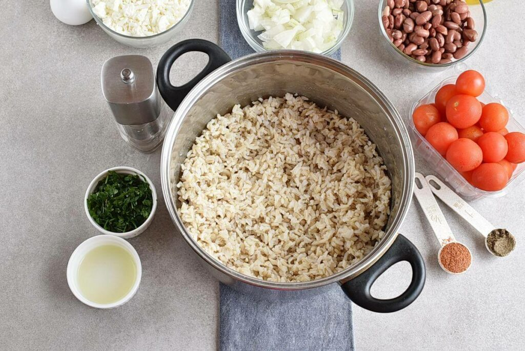 Vegetarian Stuffed Peppers recipe - step 4
