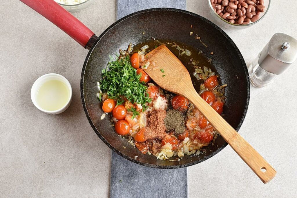 Vegetarian Stuffed Peppers recipe - step 6